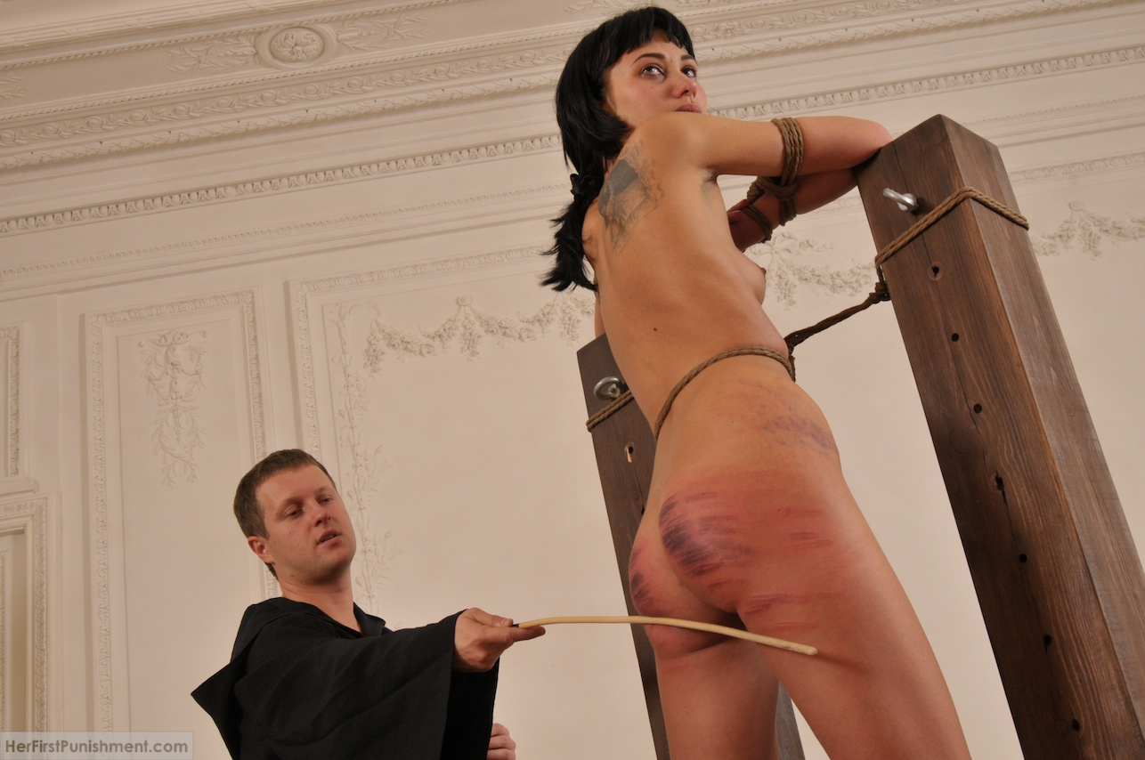 Scene punishment hard spank