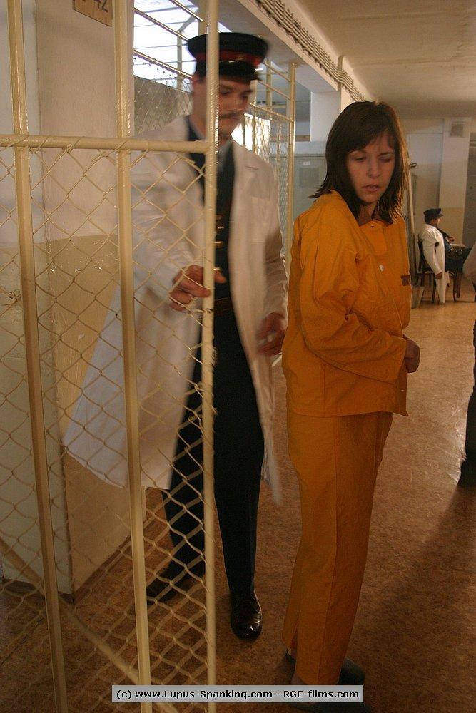 severe corporal punishment involving jail spanking slave