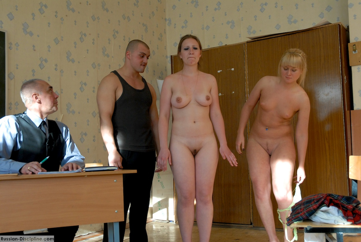 In Despair Caned Severely Fully Naked Discipline Russia Gallery