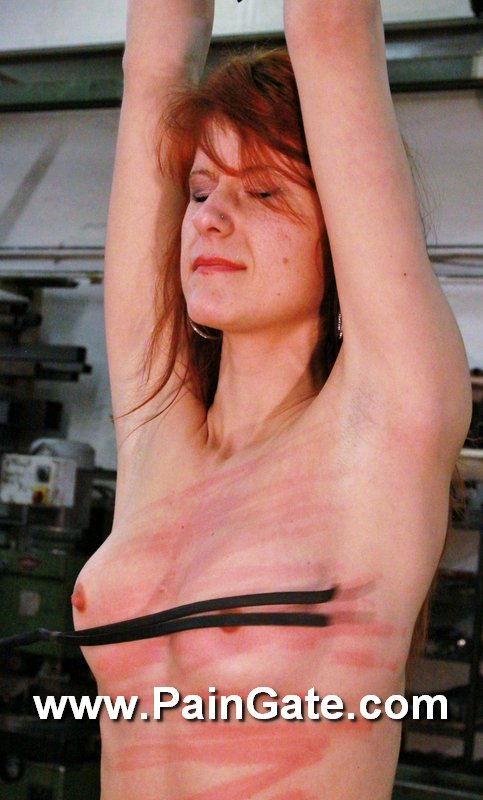 A slave who suffers from ballbusting by the mistress 9