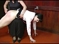 THRASHED BY MISS SMITH