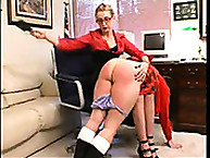 Calstar Spanking. My bottom