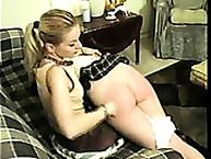 Calstar Spanking. Severe spanking