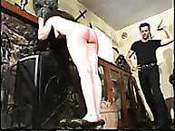 Calstar Spanking. Shameful humiliating spanking