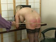 A rough caning