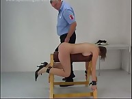 Babe was bound and spanked hard