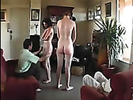 Spanking disgrace. 2 young Hotties