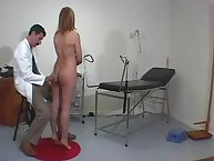 Spanking discredit. Medical room