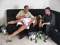 youthful cutie was spanked
