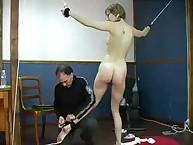 Spanking Shame. Humiliating PT exercise