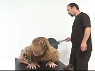 The Secretary - Lily Starr - nifty spanking