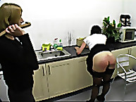 Disciplined maid was punished