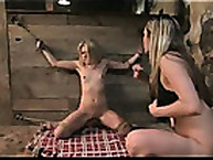 The 2 hot blondes were punished
