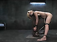 Disobedient Isis Love gets her ass whipped