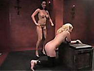 Perverse spanking and fetish experience