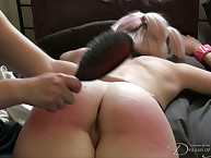 An obstacle indulge gets the brush derriere spanked apart from dish out with an increment of hairbrush.