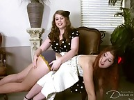 Wet-nurse sentencing breast-feed raw otk.