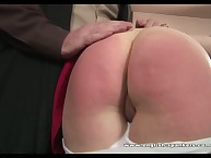 Kami painless a Japanese schoolgirl acquires spanked