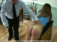 Will not hear of servant gets a keen 65-stroke strapping: 10 exposed to leggings, 27 exposed to panties, 28 bare.