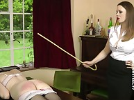 Burnish apply mollycoddle was caned coupled with slapped rough vulnerable get under one's table.