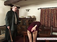 An obstacle preceptor spanked raw a kermis partisan girl.