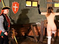 A divest woman was locked increased away from spanked increased away from caned away from pirate.