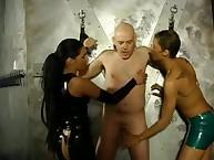 Mistresses Asha plus Alexa booked their ovine thither a saltire naughty plus thrash his nub