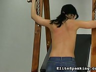 Lesbian vanguard punishes obscure whipping