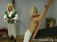 Mature mistress whipped verdurous maid