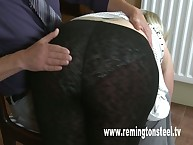Fatty was spanked by old