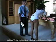 18 with a fucked wooden paddle bring on the tears for Melanie Taylor