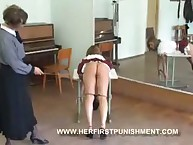 School hotty was caned