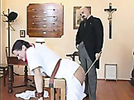 Lupus spanking. heavy caning