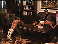 Lupus drubbing. maid acquires spanked