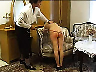 Lupus Spanking. School girls caning