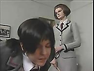 Lupus drubbing. Schoolgirl floozy is caned