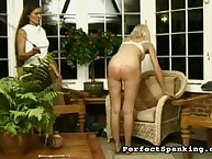 A babe cries from caning