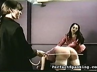 Two mistresses thrashing bigass chick