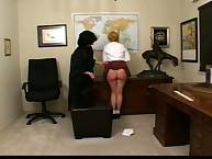 Bigass schoolgirl spanked by teacher