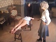 Three angels were punished by cane