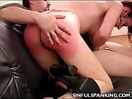 Perky Butt Hand Spanked