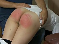 Home schoolgirl was spanked otk