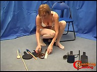 Mature blond wants spanking trial