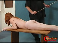Nude teeny got ass caned