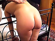 Spanked girls with wooden spoon
