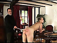 Pixie Recieves hits from the Cane