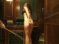The Boat Captain caned a bad girl