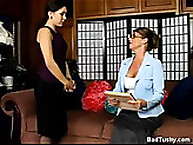 Office lady gets drubbing Punishment