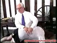 Lazy Schoolgirls Spanked Hard Over the Knee