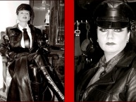 * * * LEATHER COMMANDRESS DOMINA HILDA * * *